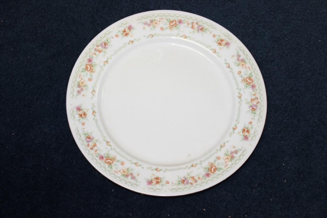 A Rare Chinese Rose Pattern Plate
