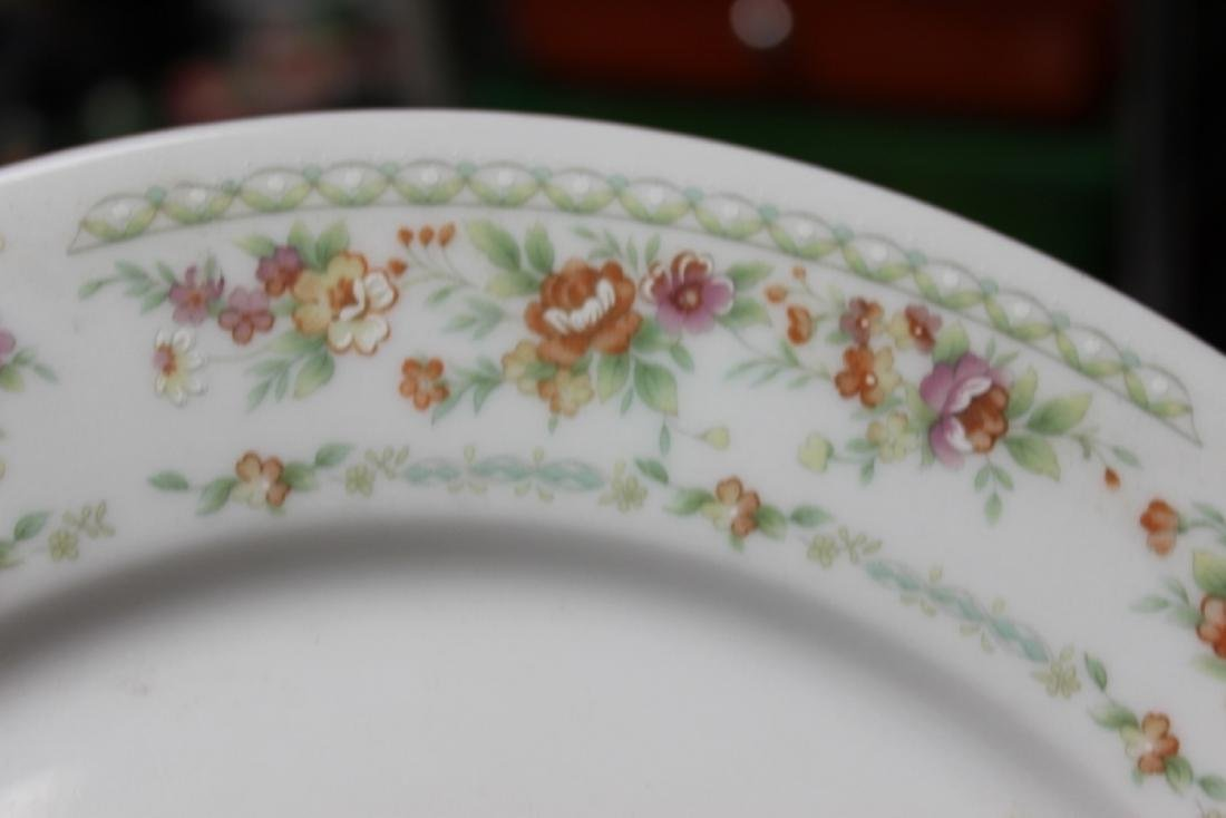 A Rare Chinese Rose Pattern Plate - 2