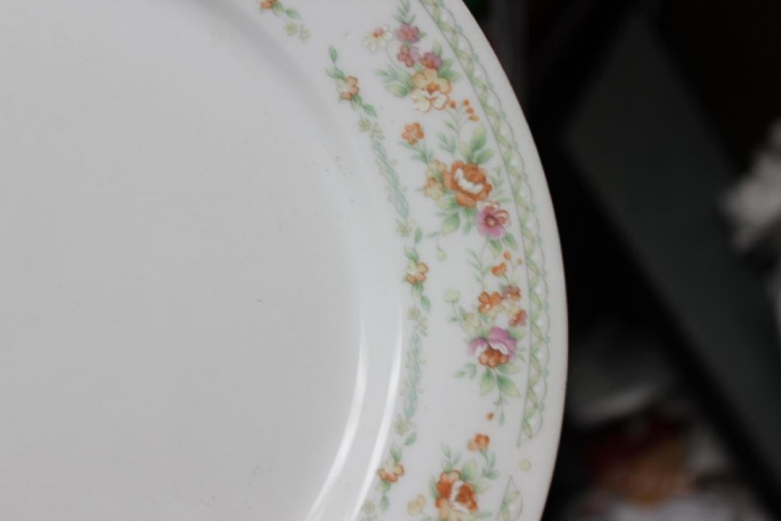A Rare Chinese Rose Pattern Plate - 3