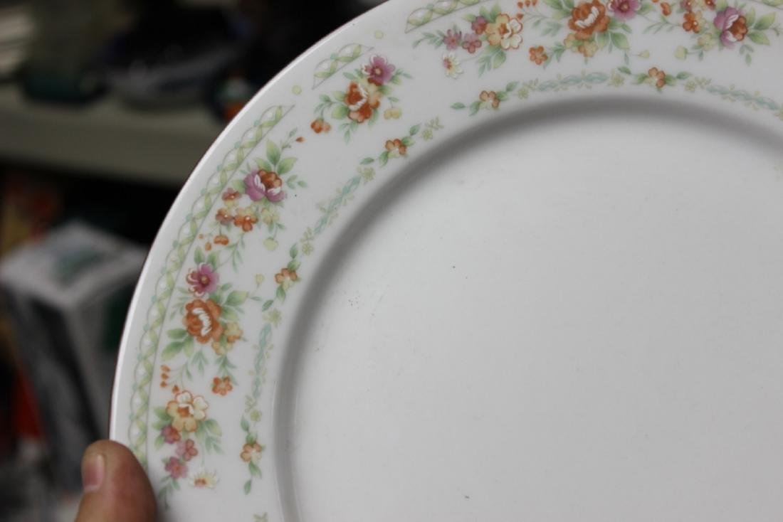 A Rare Chinese Rose Pattern Plate - 5