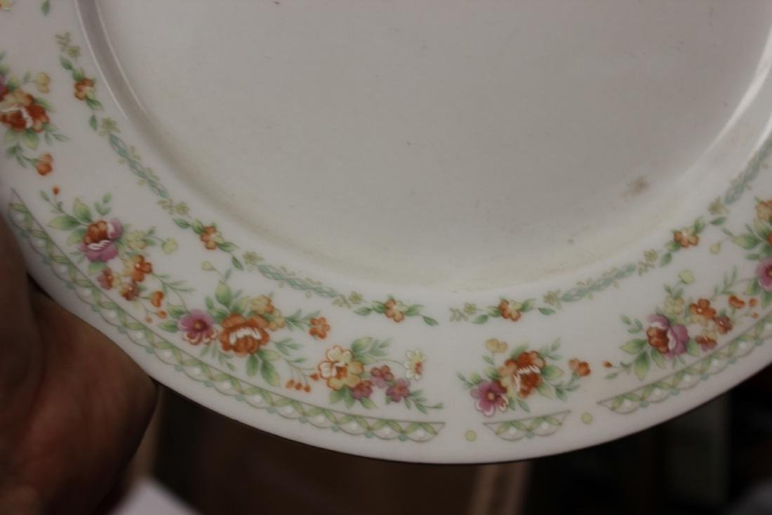 A Rare Chinese Rose Pattern Plate - 6