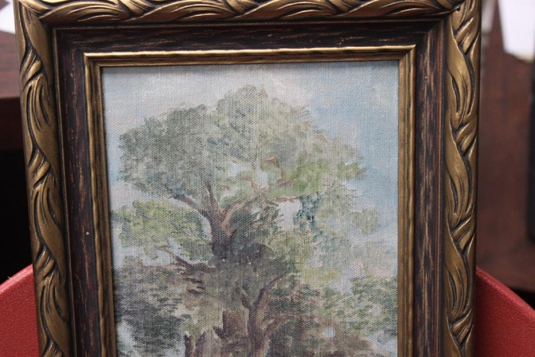 An Antique Oil on Canvas - 2