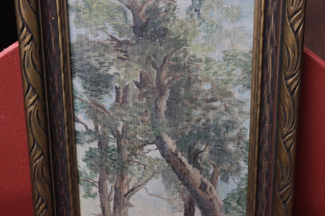 An Antique Oil on Canvas - 4