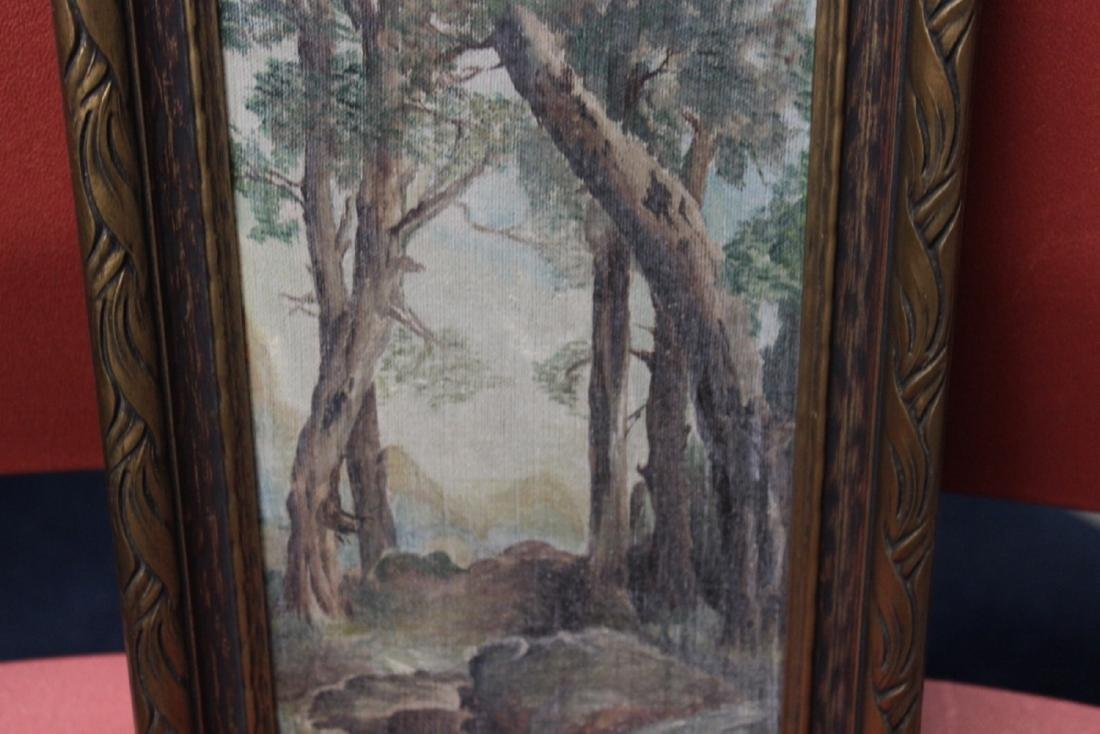 An Antique Oil on Canvas - 5