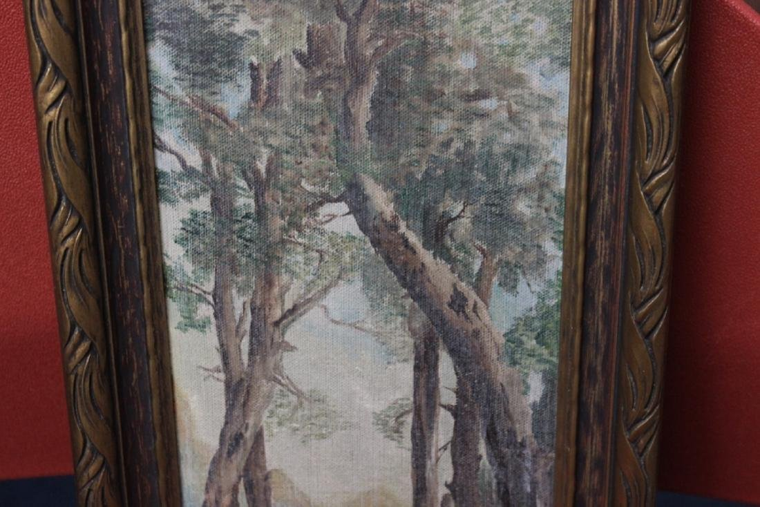 An Antique Oil on Canvas - 6