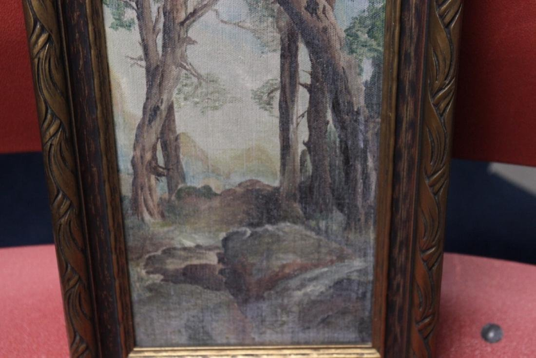 An Antique Oil on Canvas - 7