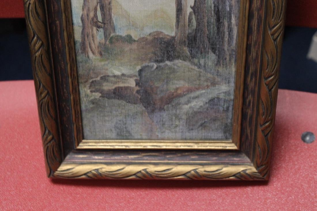 An Antique Oil on Canvas - 8