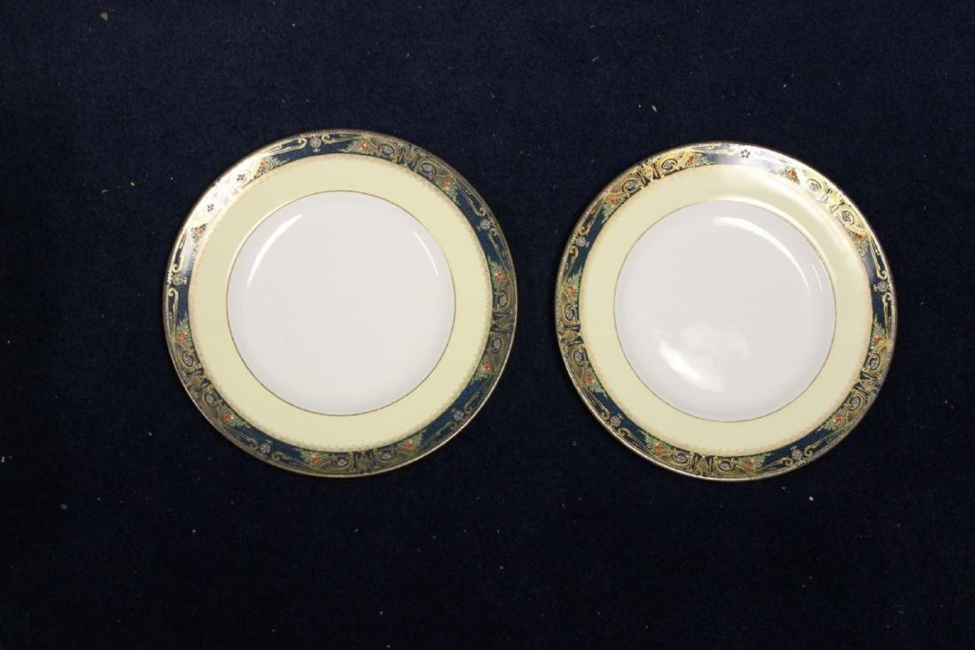 Set of 2 Royal Worcester China Plates
