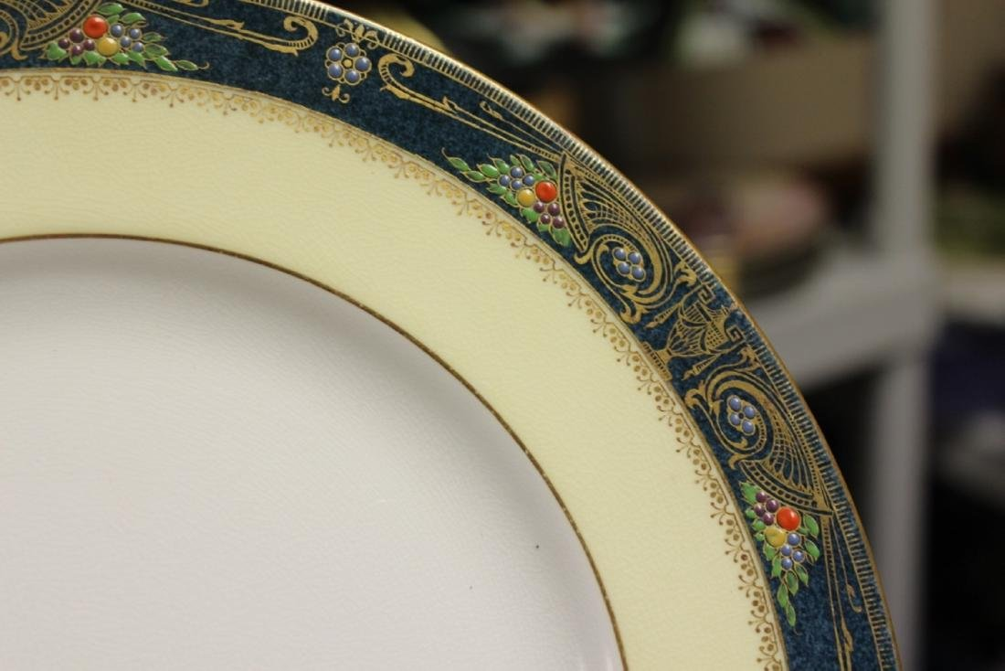 Set of 2 Royal Worcester China Plates - 3
