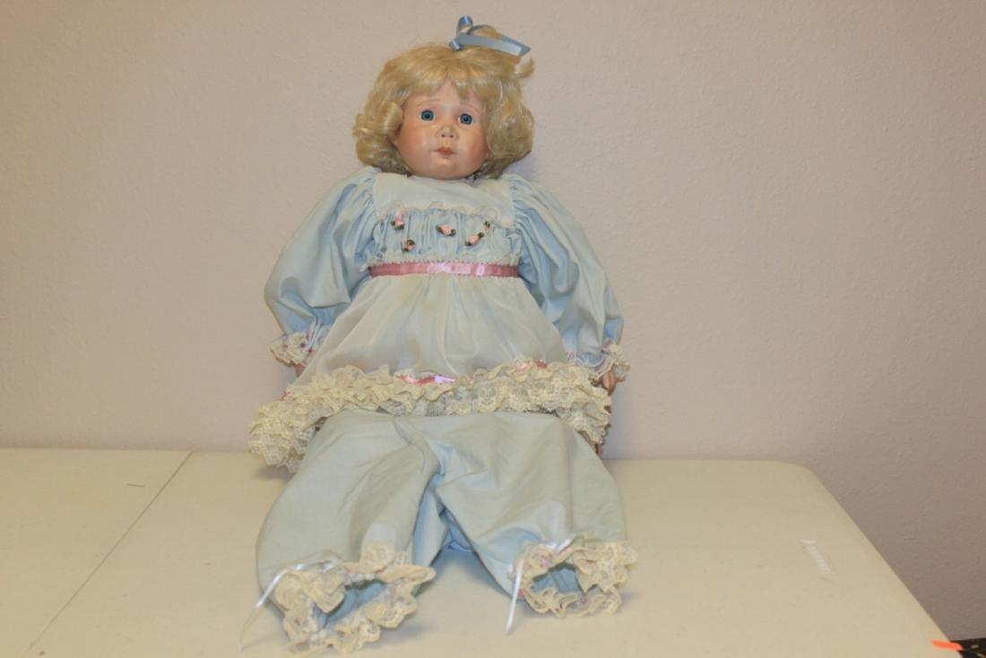 A Kais Doll - Signed by artist: Gail Shumaker