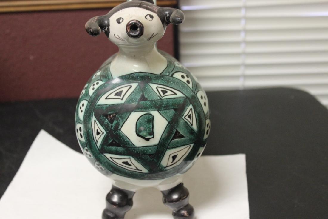 A Ceramic Ewer - 2