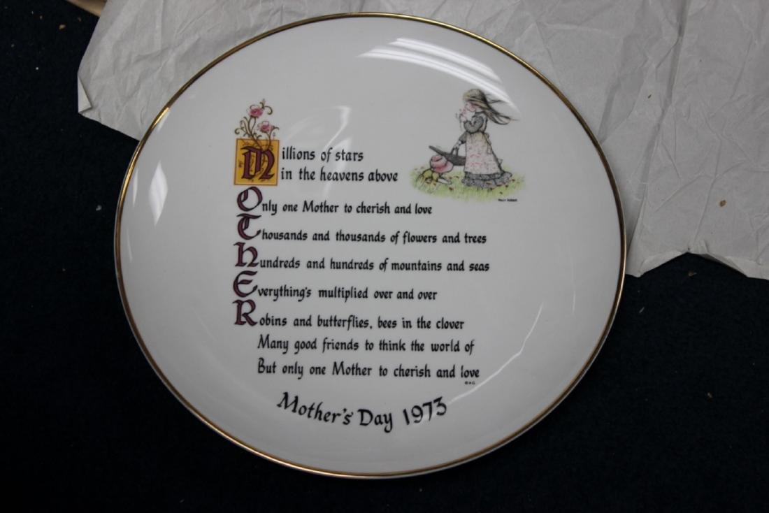 Holly Hobbie Mother's Day Plate