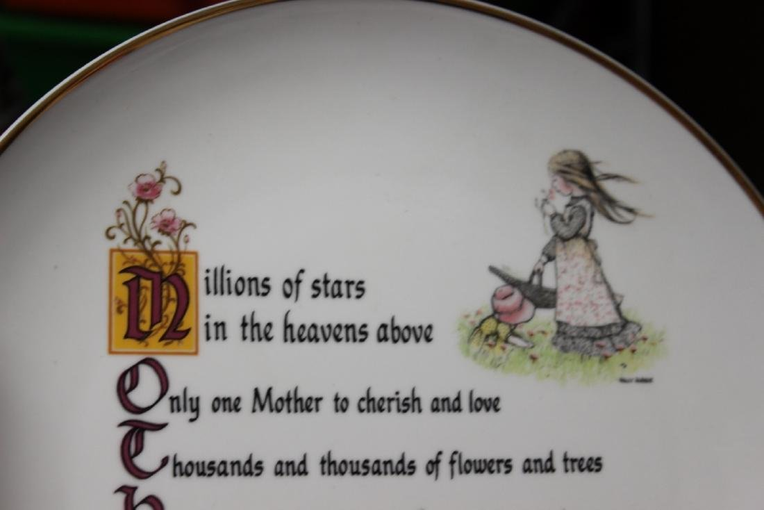Holly Hobbie Mother's Day Plate - 2