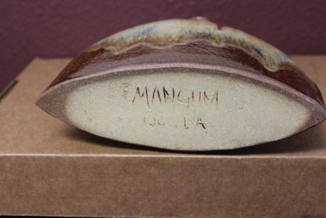 A Mangum, NC Pottery Vase - 4