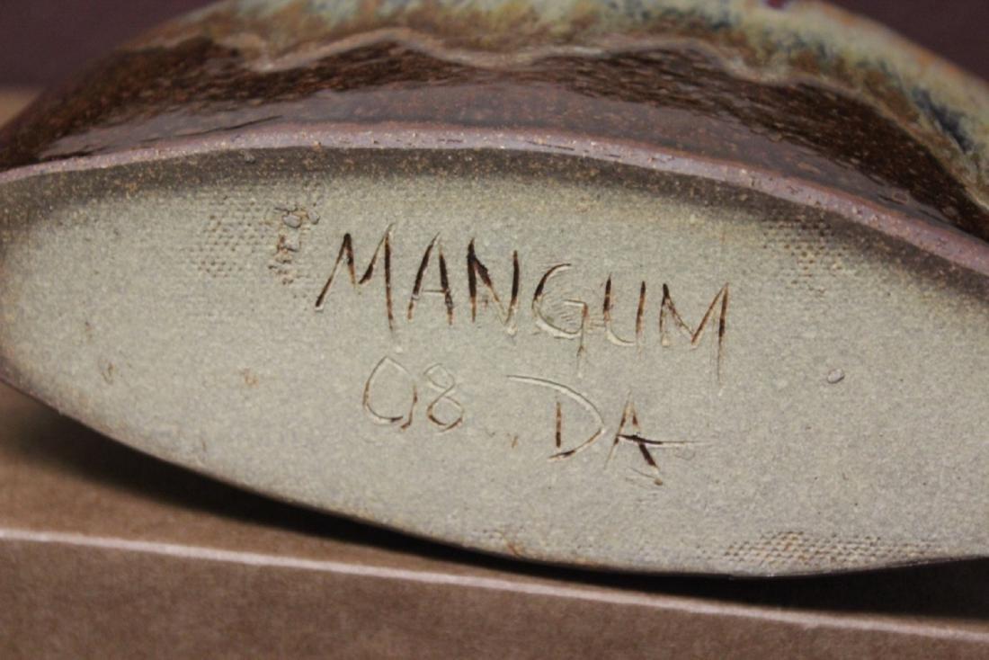 A Mangum, NC Pottery Vase - 5