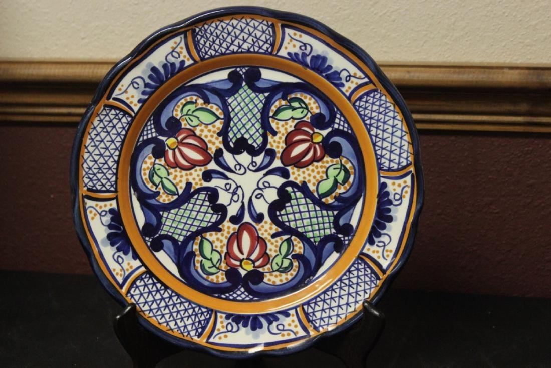 A Ceramic Wall Plate