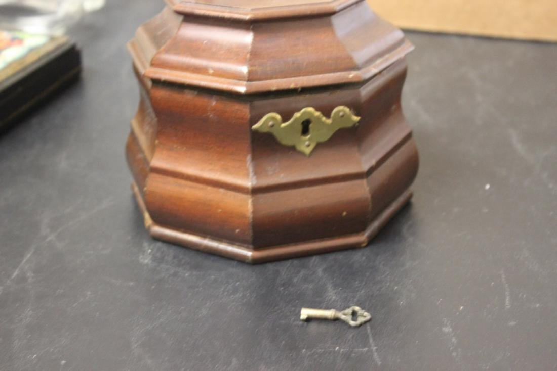 A Wooden Box with Key - 2