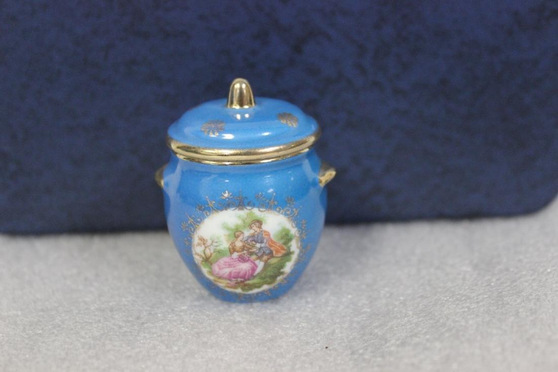 A Limoge Miniature Pot