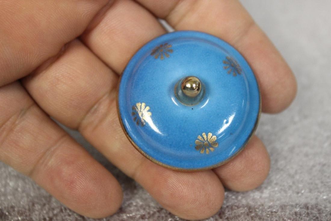 A Limoge Miniature Pot - 2