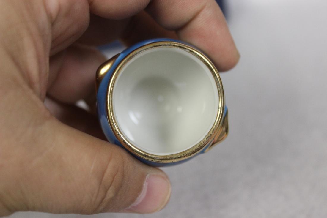 A Limoge Miniature Pot - 4
