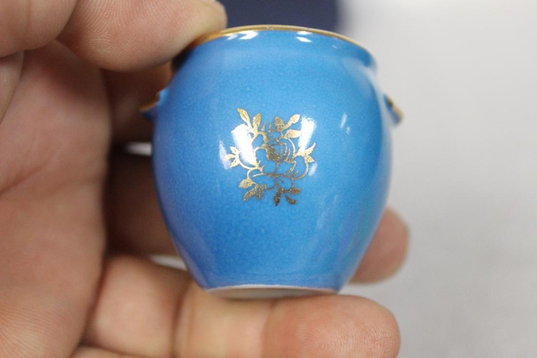 A Limoge Miniature Pot - 8
