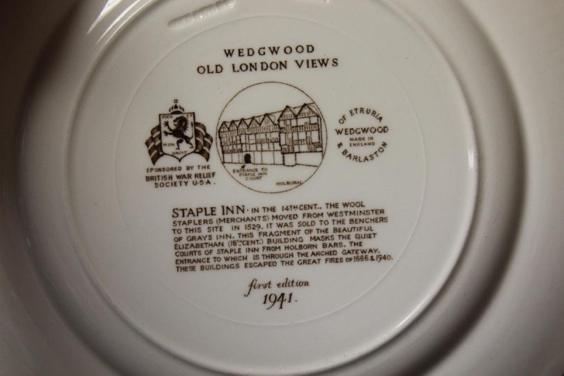 A Wedgwood Old London Views Collectors Plate - 3