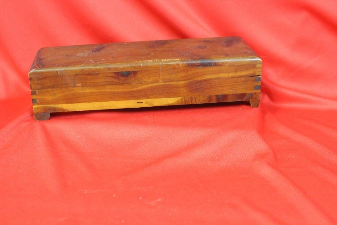 A Cedar Wooden Box - 2