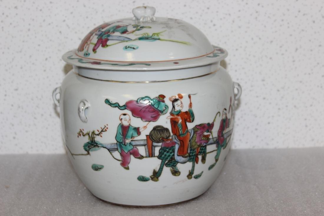 A Vintage/Antique Chinese Porcelain Jar