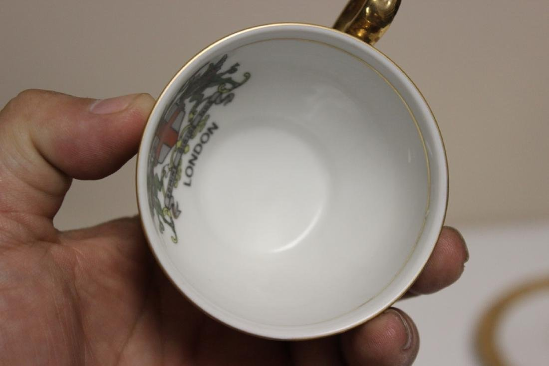 A Kronester Bavaria Bone China Cup and Saucer - 5