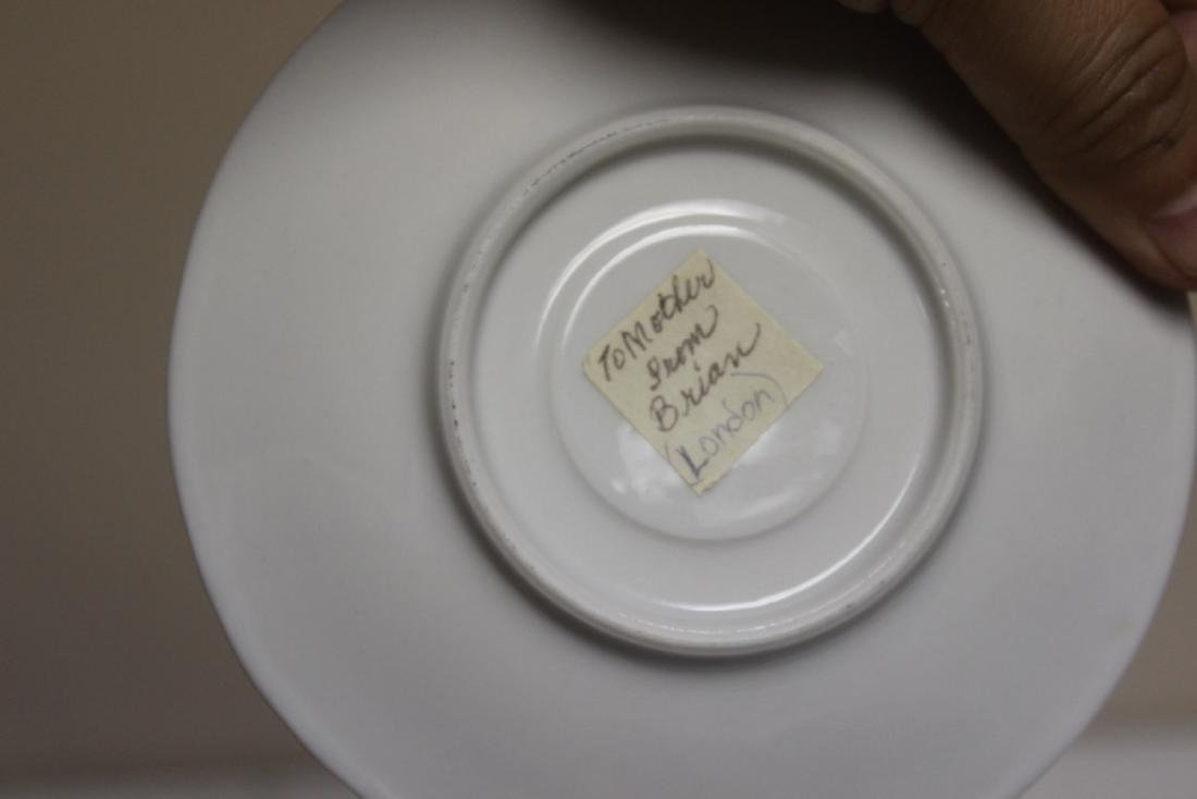 A Kronester Bavaria Bone China Cup and Saucer - 8