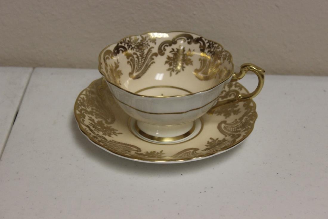A Rare Paragon Bone China Cup and Saucer