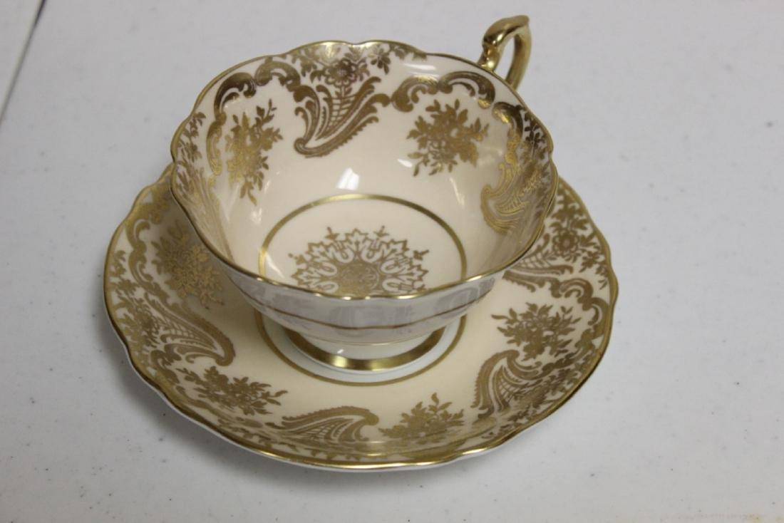 A Rare Paragon Bone China Cup and Saucer - 5