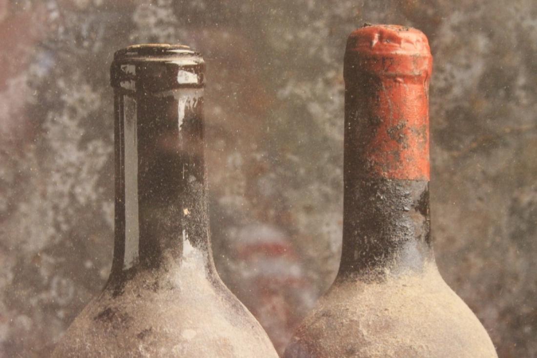 A Peter Knaup Wine Photograph - Framed - 2