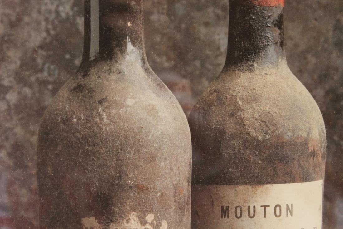 A Peter Knaup Wine Photograph - Framed - 3