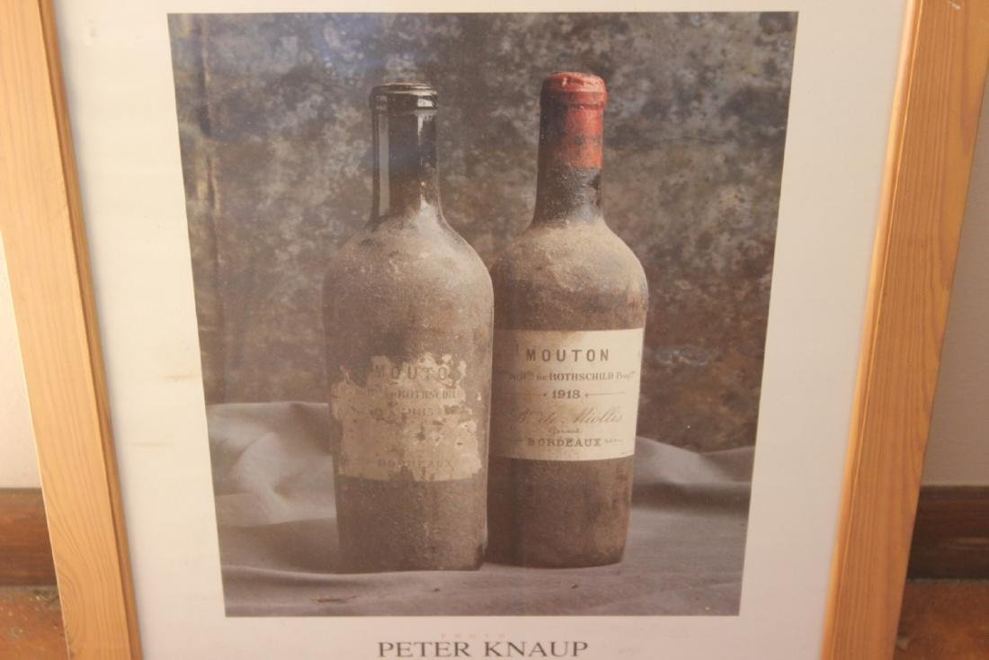 A Peter Knaup Wine Photograph - Framed - 7