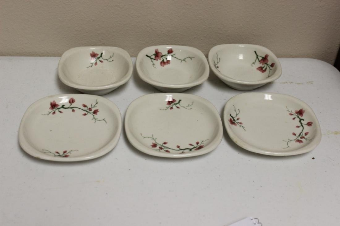 A Lot of 6 Railroad Trend Syracuse China
