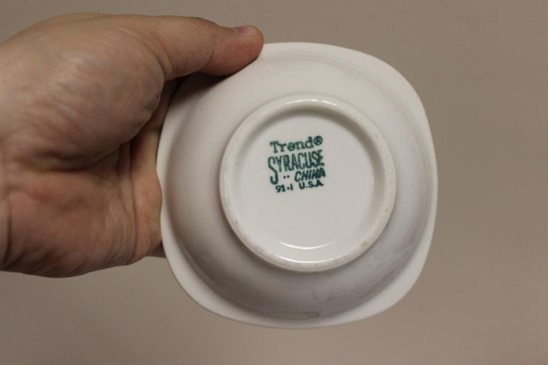 A Lot of 6 Railroad Trend Syracuse China - 7