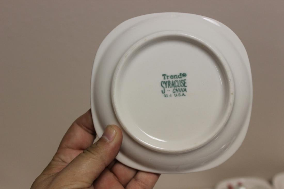 A Lot of 6 Railroad Trend Syracuse China - 9