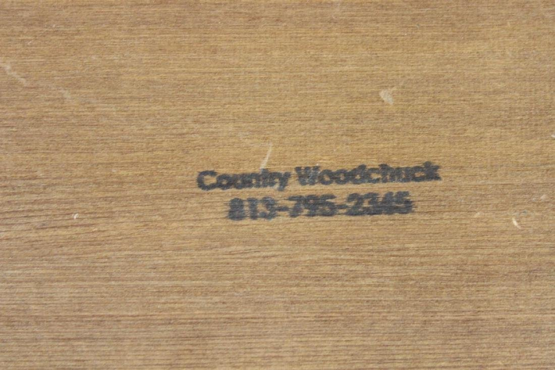 A Wooden Sign on Antiques - 3