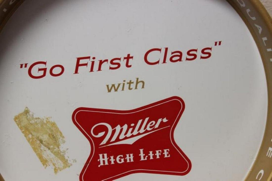 A Miller High Life Beer Tray - 3