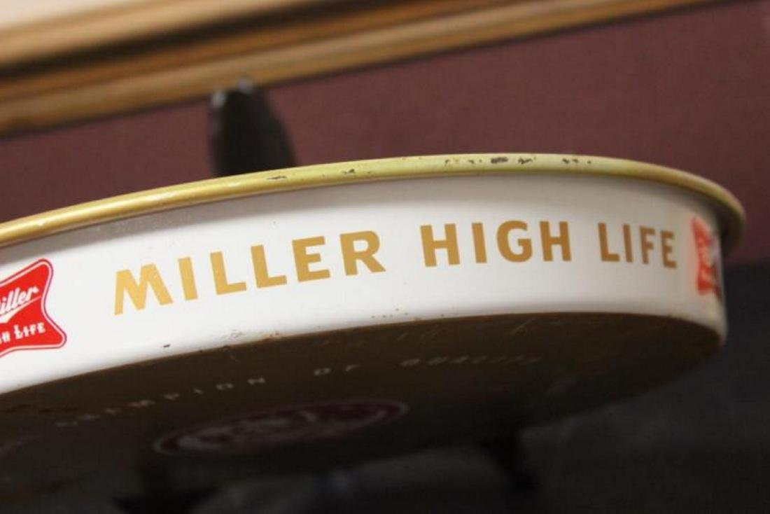 A Miller High Life Beer Tray - 6