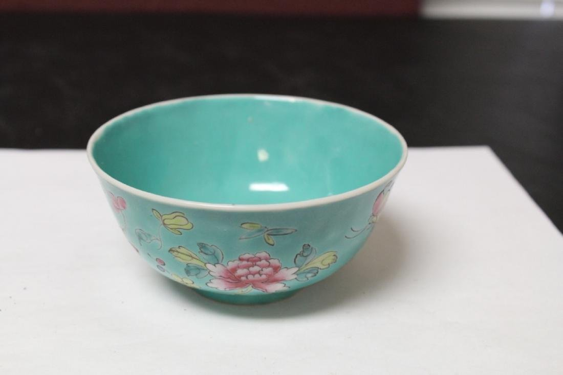 An Early 20th Century Famillevert Bowl