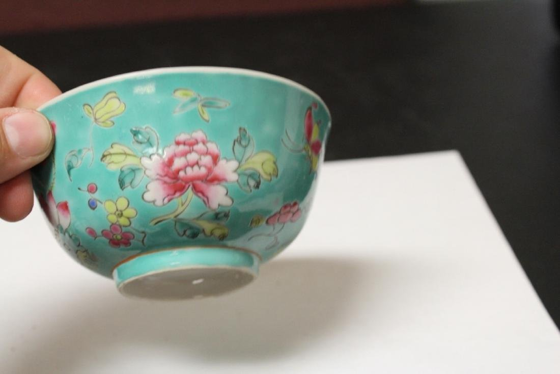 An Early 20th Century Famillevert Bowl - 3