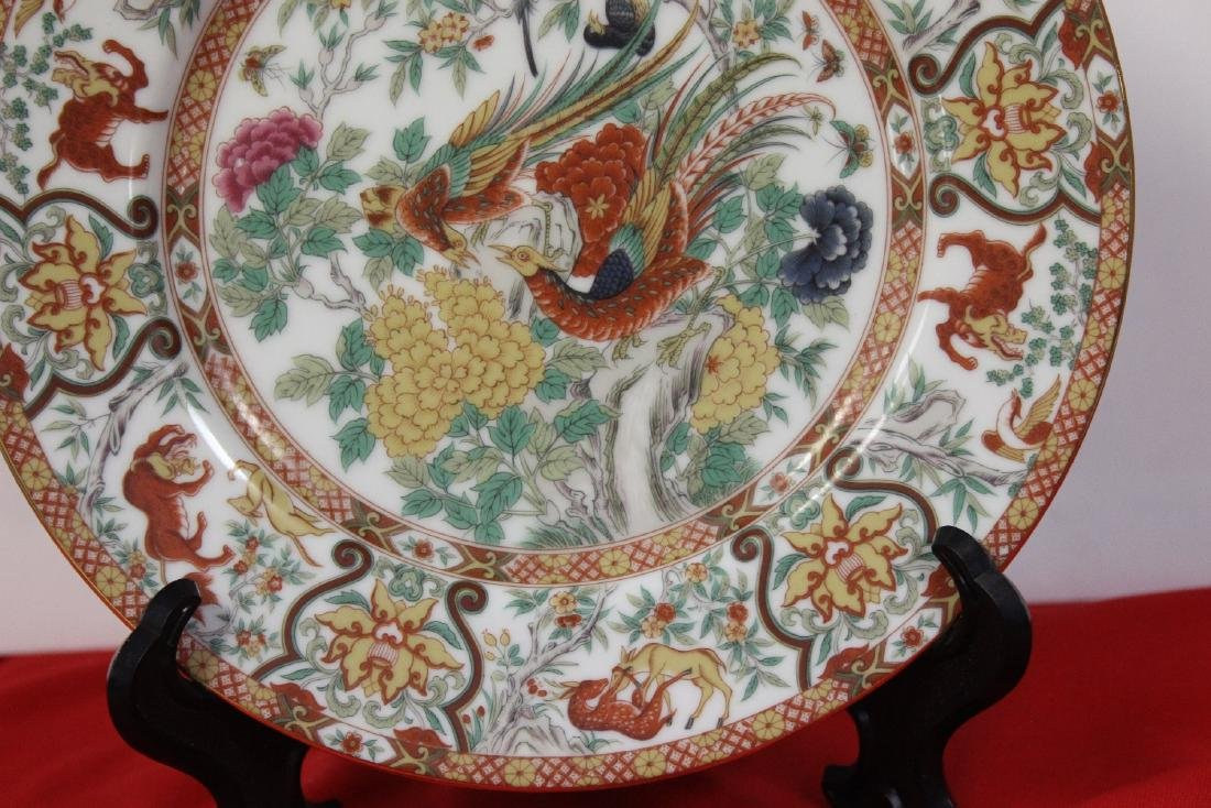 A Beautiful Japanese Export Plate - 3