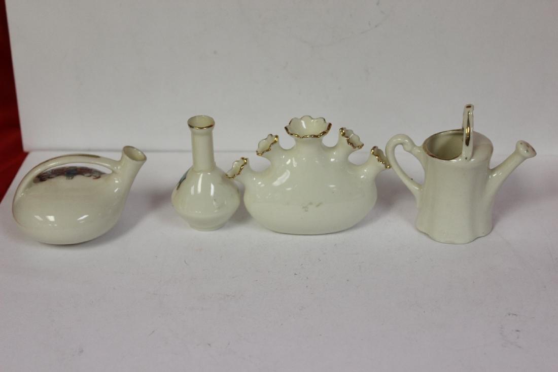 Lot of 4 Miniature Armour Ceramic Articles - 3