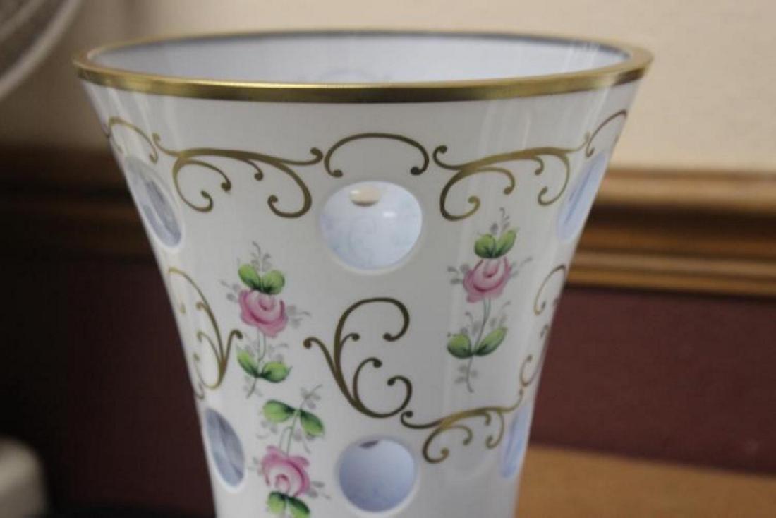 A Bohemian Glass Vase - 2