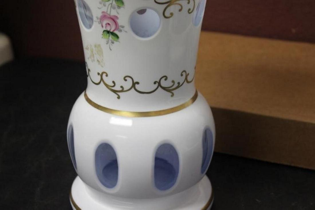 A Bohemian Glass Vase - 4