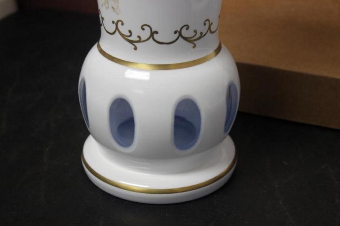 A Bohemian Glass Vase - 6