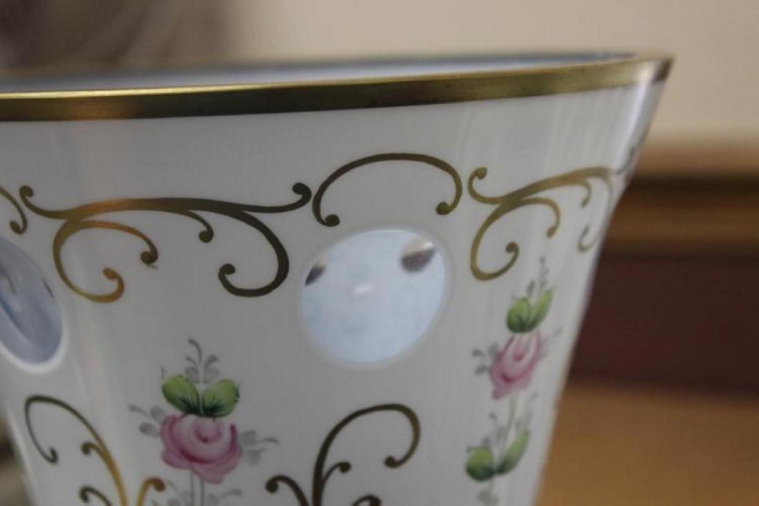 A Bohemian Glass Vase - 7