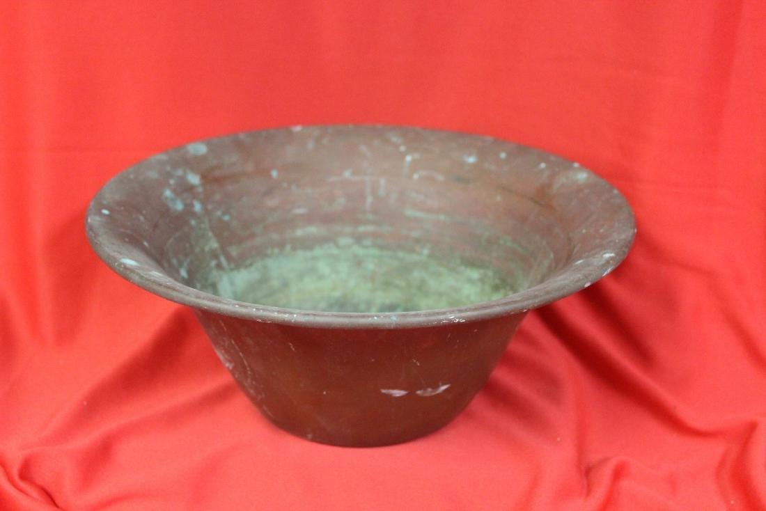 A Vintage Copper Bowl